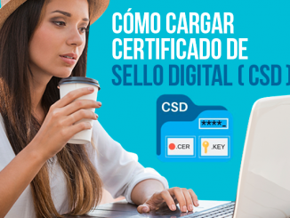 Como cargar sus Certificado de Sello Digital (CSD)