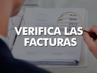 Verifica las facturas que recibes