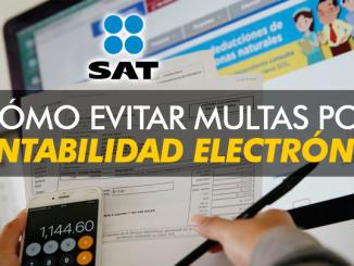Cómo evitar las multas en el SAT por contabilidad electrónica