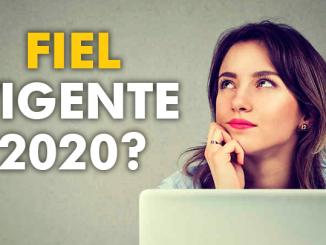 ¿Cómo saber si mi e.firma (antes FIEL) sigue vigente en el 2020?