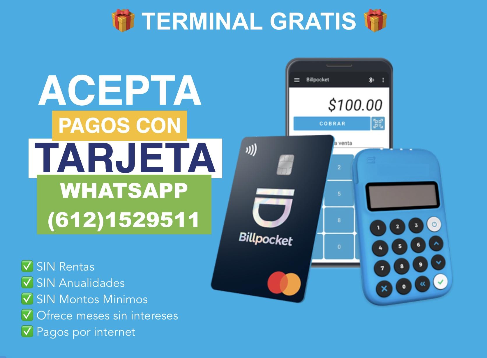 terminal gratis Billpocket