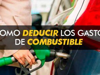 Cómo deducir los gastos de combustible