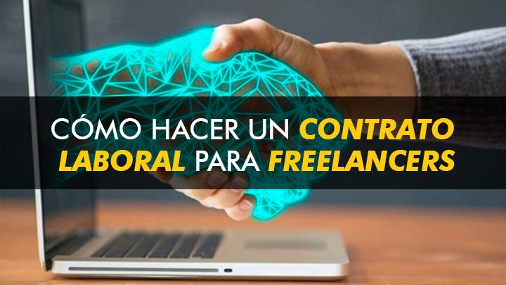 como hacer un contrato para freelancers