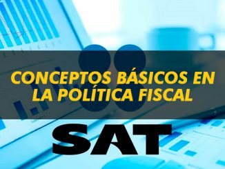 Conceptos básicos en la política fiscal